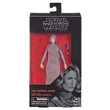 "Star Wars Black Series Vice Admiral Holdo 6"" Action Figure"